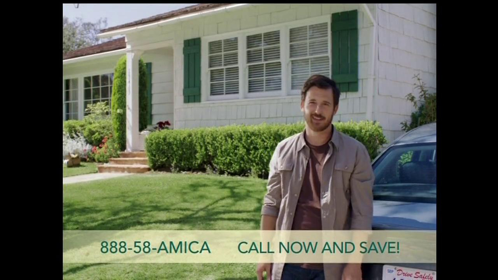 amica mutual insurance company tv commercial for a. Black Bedroom Furniture Sets. Home Design Ideas