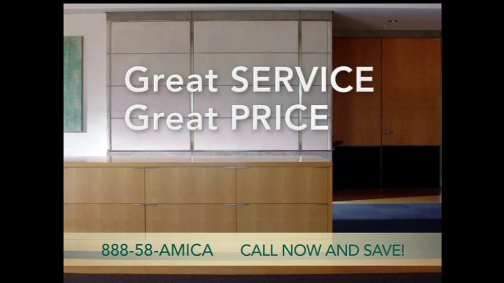 Amica mutual insurance company tv commercial for a for Is amica insurance good