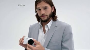 Nikon TV Spot, 'Huge Is...' Featuring Ashton Kutcher