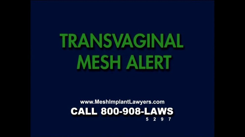 Goza Honnold Trial Lawyers TV Spot For Transvaginal Mesh Alert - Screenshot 1