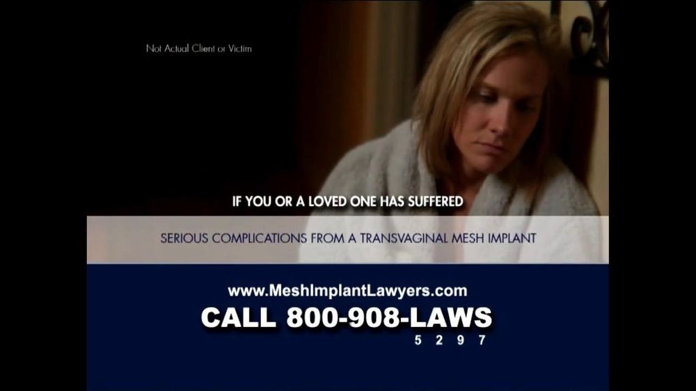 Goza Honnold Trial Lawyers TV Spot For Transvaginal Mesh Alert - Screenshot 2
