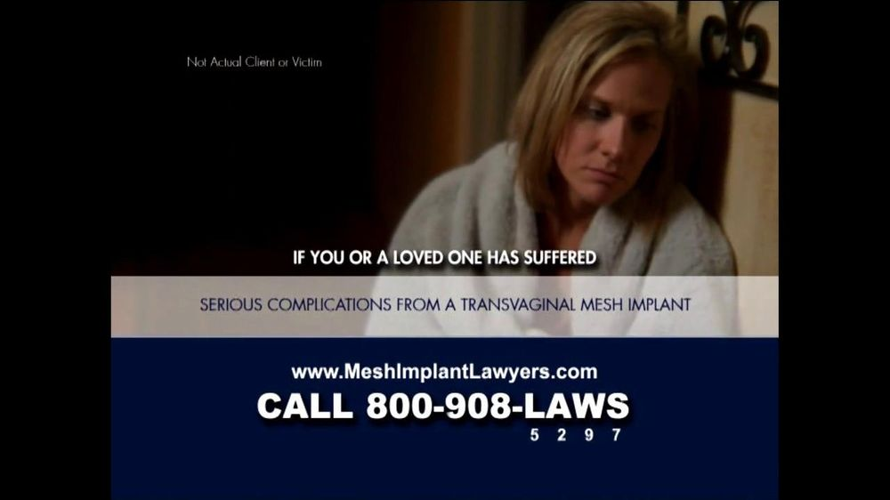 Goza Honnold Trial Lawyers TV Spot For Transvaginal Mesh Alert - Screenshot 3