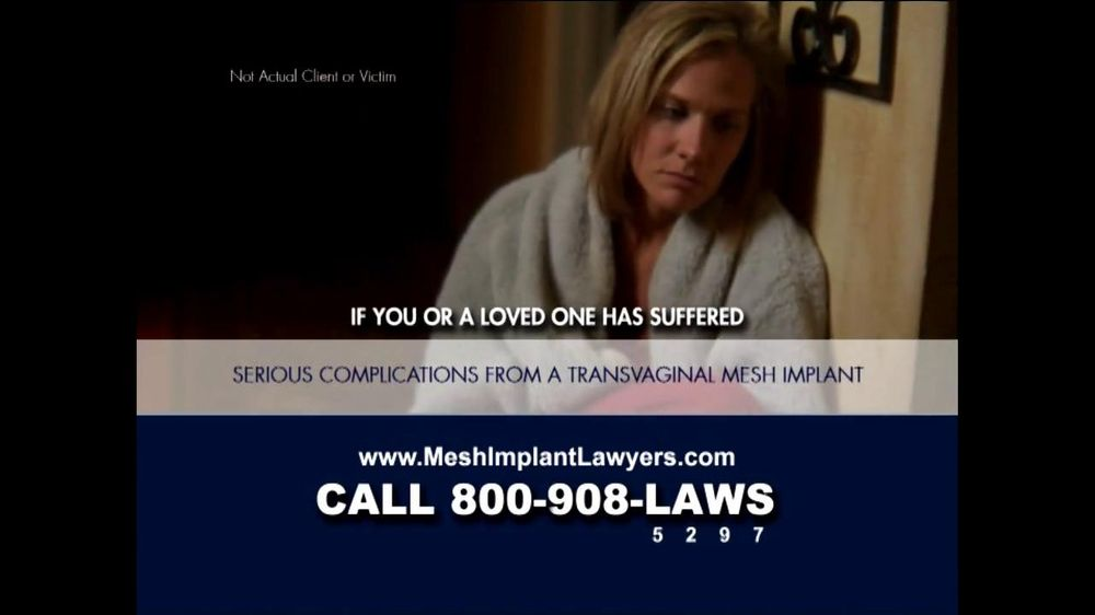 Goza Honnold Trial Lawyers TV Spot For Transvaginal Mesh Alert - Screenshot 5