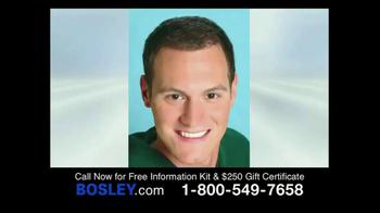 Bosley TV Spot, '250 Gift Certificate'