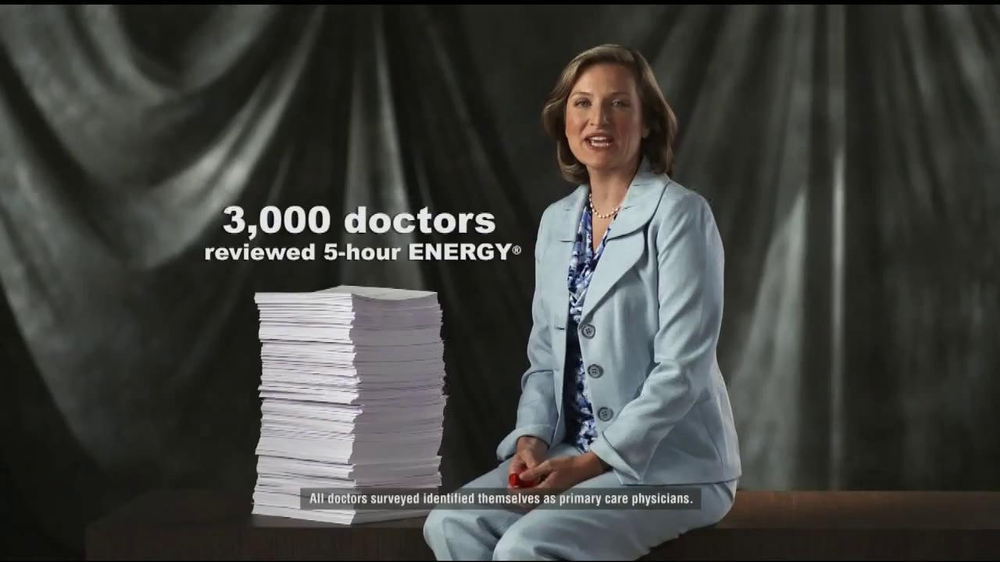 5 Hour Energy TV Spot, 'Doctor's Review' - Screenshot 1