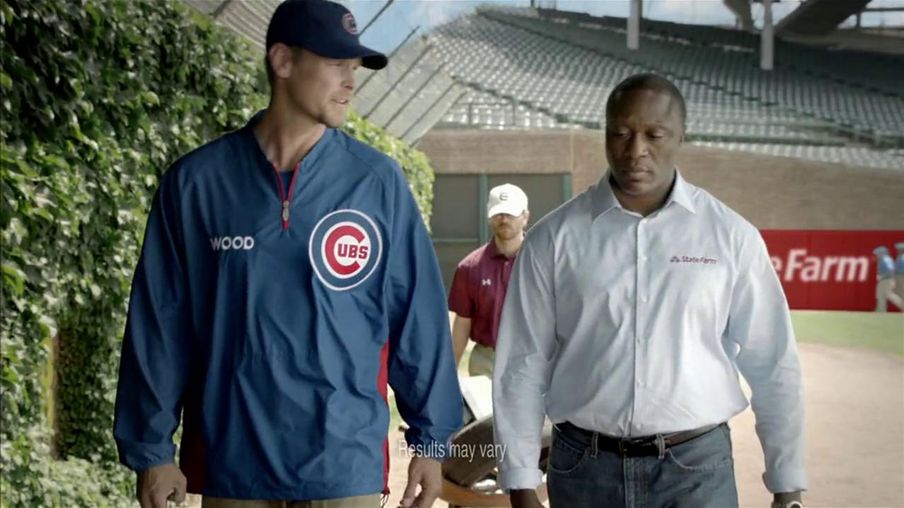 State Farm Discount Double Check TV Spot Feat. Kerry Wood, Andre Dawson - Screenshot 1