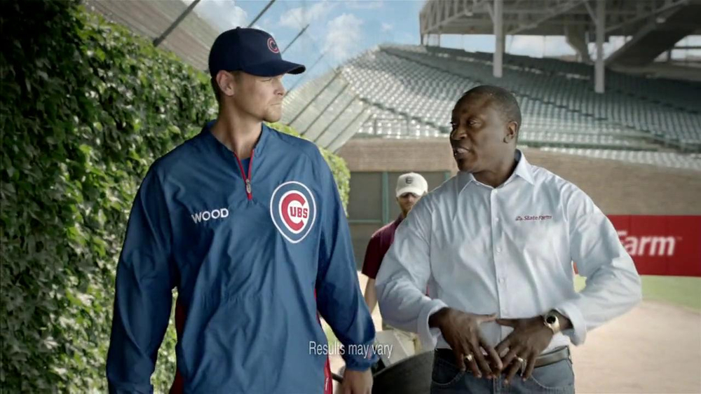 State Farm Discount Double Check TV Spot Feat. Kerry Wood, Andre Dawson - Screenshot 2