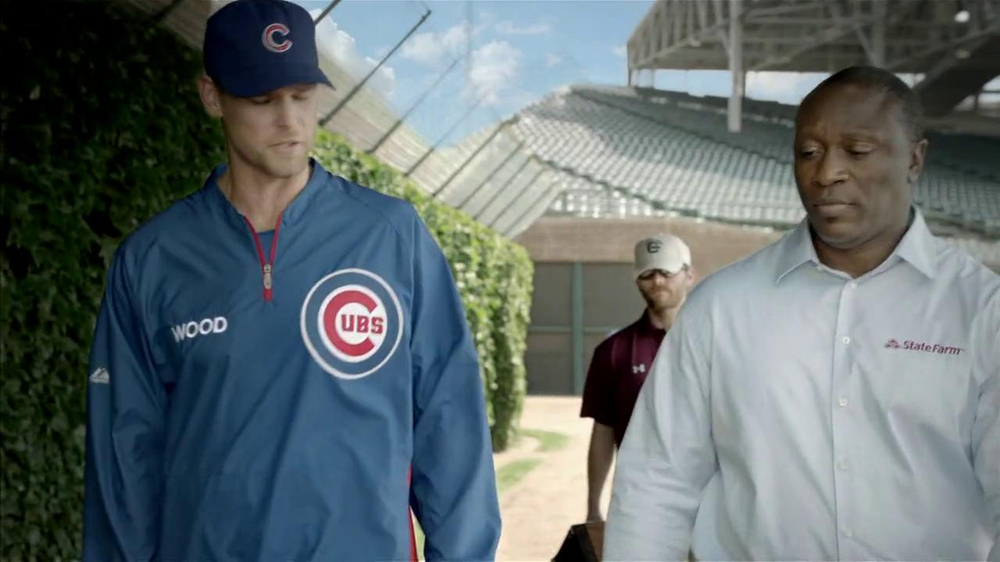 State Farm Discount Double Check TV Spot Feat. Kerry Wood, Andre Dawson - Screenshot 4
