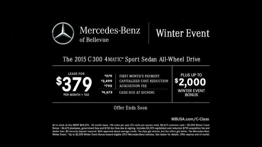 Mercedes benz tv spot 39 santa 39 s garage 39 for Mercedes benz winter event commercial
