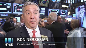 New York Stock Exchange TV Spot, 'Keysight Technologies'