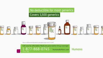 Humana TV Spot, 'Prescription Drug Coverage'