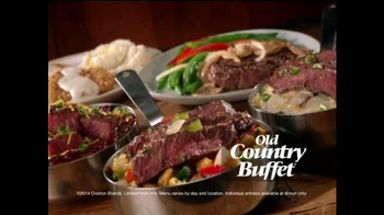 Old Country Buffet TV Spot, 'New Entrees'
