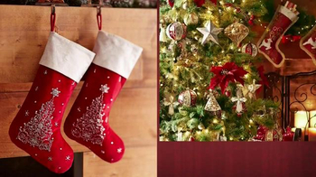 Pier 1 Imports TV Spot, 'From Stockings to Wreaths'