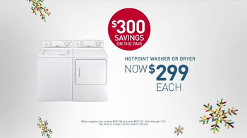 Lowe's Black Friday Deals TV Spot, 'Washers and Dryers'