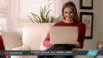 Overstock.com TV Spot, 'Holiday Cyber Week' thumbnail