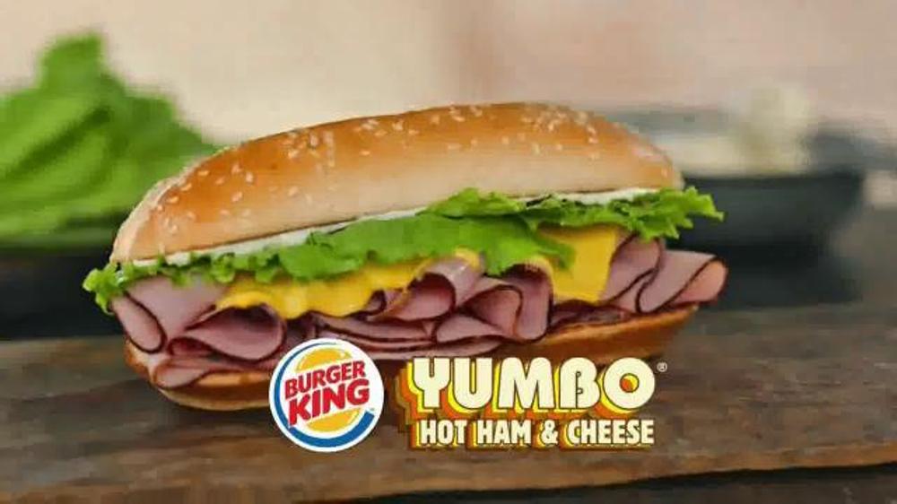 Burger King Yumbo TV Spot, '70s Sandwich is Back'