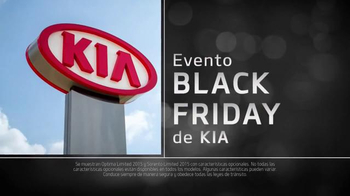 Kia Evento Black Friday TV Spot, 'Ahorra en Grande' [Spanish] thumbnail