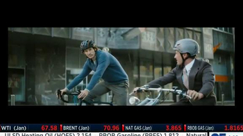 Invesco PowerShares TV Spot, 'Bike Ride'