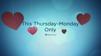 eHarmony Free Communication Weekend TV Spot, 'Something Exciting for You'