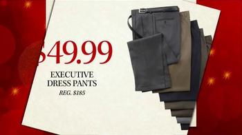 JoS. A. Bank Black Friday Doorbusters TV Spot, 'Executive Dress Pants'
