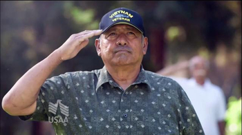 USAA Salute to Service TV Spot, 'Base Visits' thumbnail