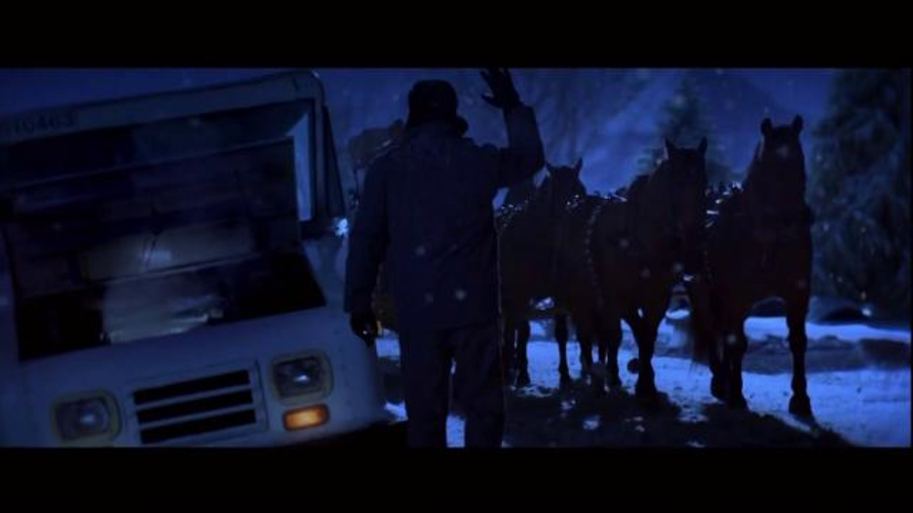 Wells Fargo TV Spot, 'The Stagecoach and the Snowmen' - Screenshot 1