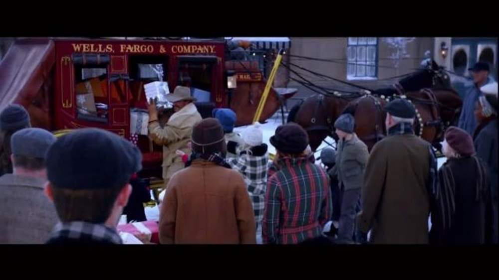 Wells Fargo TV Spot, 'The Stagecoach and the Snowmen' - Screenshot 10