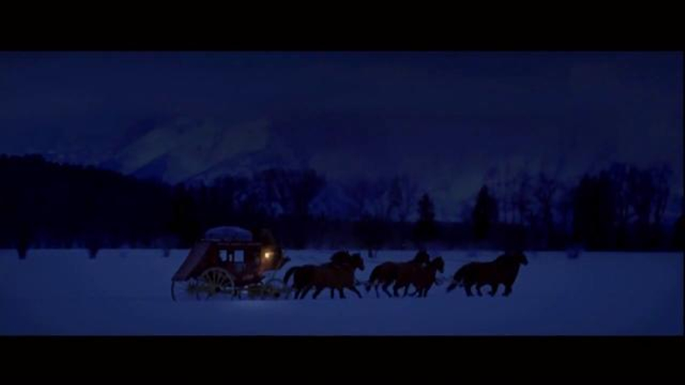 Wells Fargo TV Spot, 'The Stagecoach and the Snowmen' - Screenshot 3