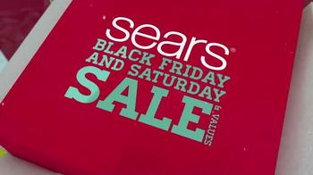 Sears Black Friday Sale TV Spot, 'Fleece and Tools'
