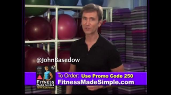 Fitness Made Simple TV Spot, 'Build Muscle' Featuring John Basedow