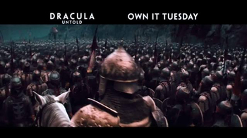 Dracula Untold Blu-ray and DVD TV Spot