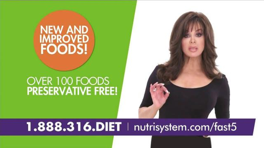 Nutrisystem Fast 5+ TV Spot, 'Little Black Dress Moment' Feat. Marie Osmond thumbnail