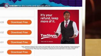 TaxSlayer.com TV Spot, 'Buck'