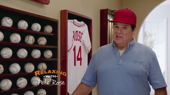Skechers Relaxed Fit Super Bowl 2015 TV Spot, 'The Hall' Feat. Pete Rose
