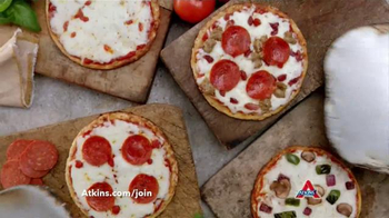 Atkins Pizza TV Spot, 'Don't Miss Pizza' Featuring Sharon Osbourne