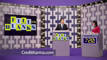 Credit Karma TV Spot, 'Fill in the Blanks' thumbnail