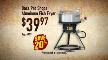 Bass pro shops spring fever sale tv spot 39 the trail less for Bass pro fish fryer