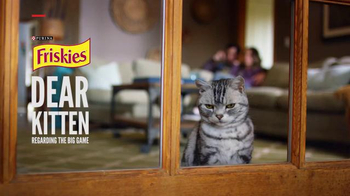 Friskies: Dear Kitten: Regarding the Big Game