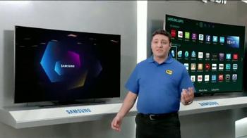 Best Buy Samsung Ultra Curve UHD TV Spot, 'Adam's Beta Test'