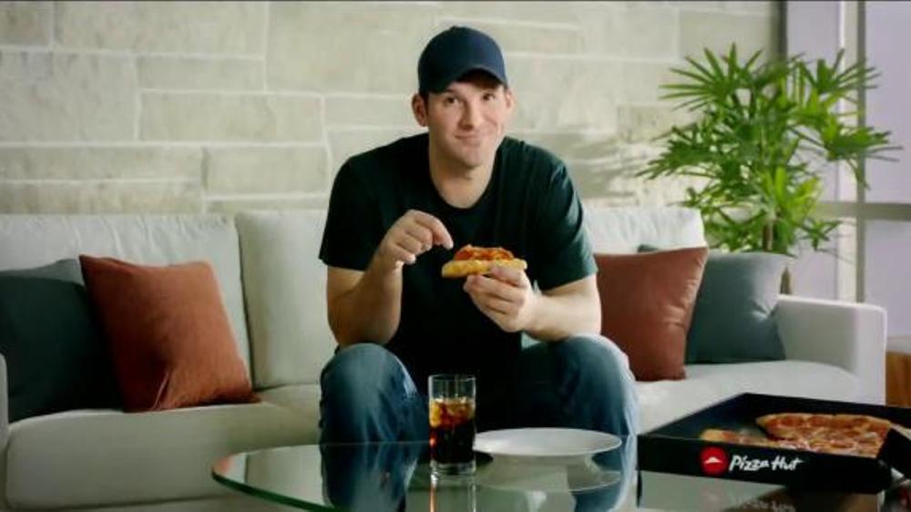 Pizza Hut Triple Cheese Covered Stuffed Crust TV Spot, 'Play' Ft. Tony Romo