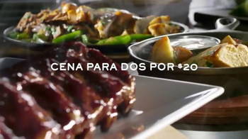 Chili's Dr Pepper Baby Back Ribs TV Spot, 'Dos Iconos de Texas' [Spanish]