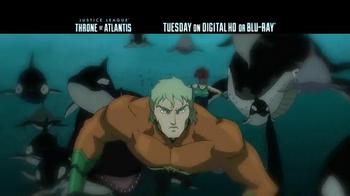 Justice League: Throne of Atlantis Blu-ray TV Spot