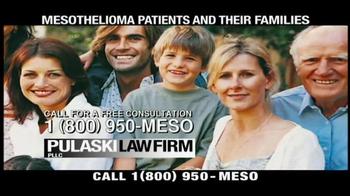 Pulaski & Middleman TV Spot, 'Mesothelioma Patients: Thousands of Workers'