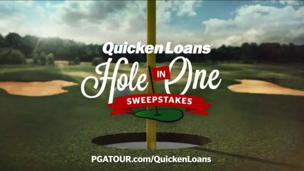 Quicken Loans TV Spot, 'Hole in One Sweepstakes' thumbnail
