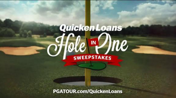Quicken Loans TV Spot, 'Hole in One Sweepstakes'