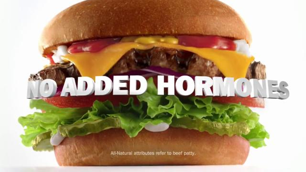 Carls Jr.: The All-Natural Burger - DAILY COMMERCIALS