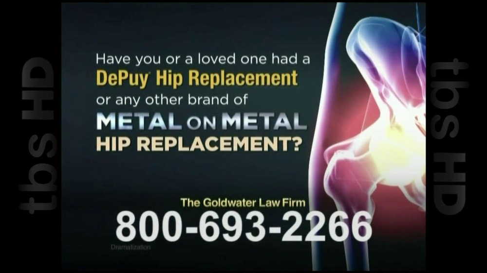 GoldWater Law Firm TV Spot For Hip Repalcement - Screenshot 6