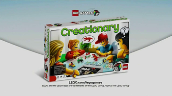 LEGO Creationary TV Spot