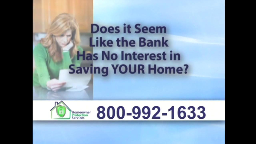 Homeowner Protection Services TV Spot, 'Mortgage Payments' - Screenshot 2