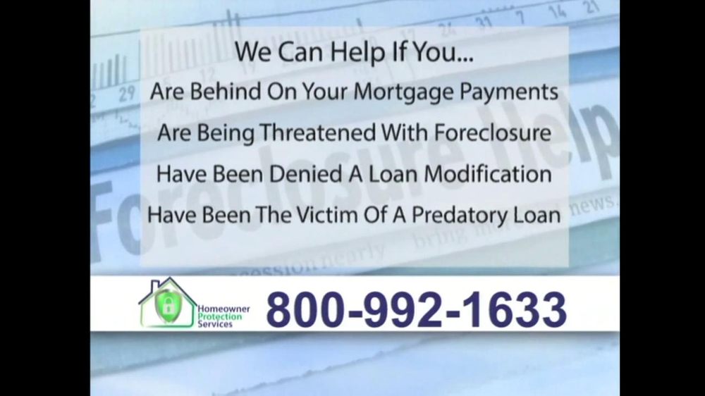 Homeowner Protection Services TV Spot, 'Mortgage Payments' - Screenshot 6